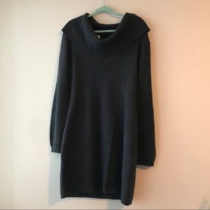 Forever 21+ Grey sweater dress